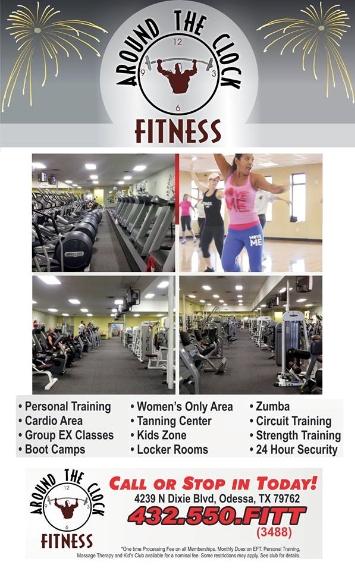 Around The Clock Fitness - Odessa TX